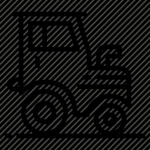 engine, farm, tractor, transport icon