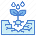 farming, gardening, plant, sprout icon