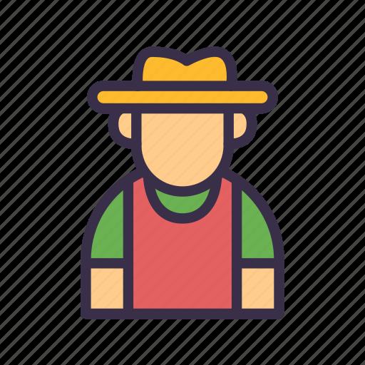 agriculture, avatar, farm, farmer, farming icon