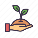 agriculture, farm, gardening, leaf, plant, sprout icon