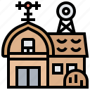 barn, agriculture, farmhouse, rural, storage icon