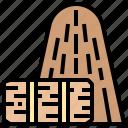bale, farm, hay, stack, straw icon