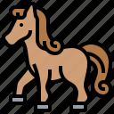 farm, horse, mare, mustang, pony icon