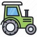 agriculture, farming, gardening, tractor