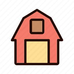 agriculture, cow, farm, farmer, field, nature, tractor icon