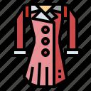 clothes, coat, fashion, jacket icon