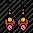 accessory, earrings, elegant, jewelry