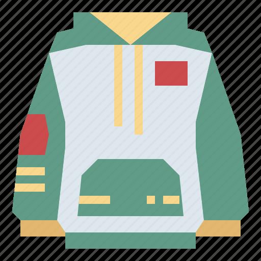 clothes, fashion, garment, hoodie icon