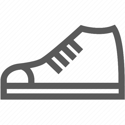 footwear, running shoes, shoes, sneakers, tennis shoes icon