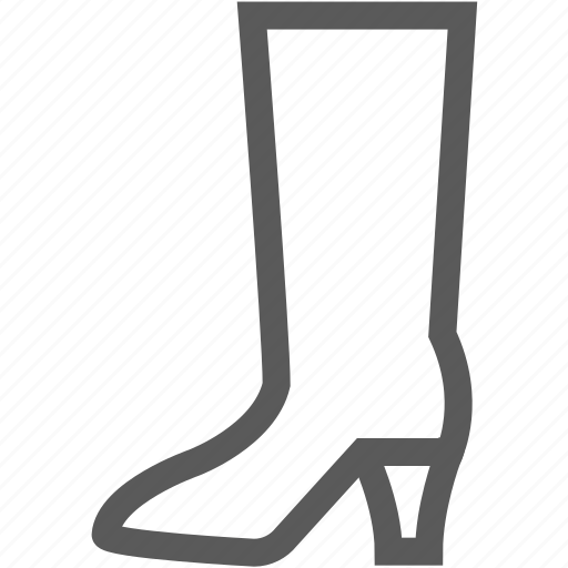 boot, boots, fashion, footwear, shoes icon