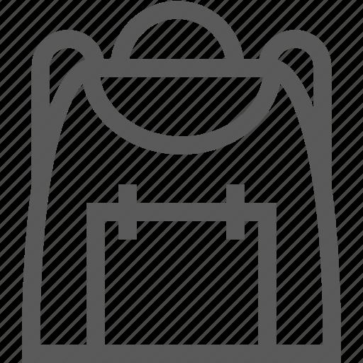 backpack, bag, baggage, hiking, school bag, travel icon