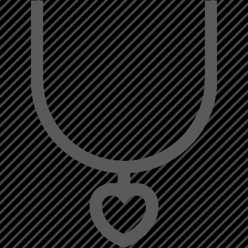 accessory, choker, heart, jewelry, necklace, pendant, wedding icon