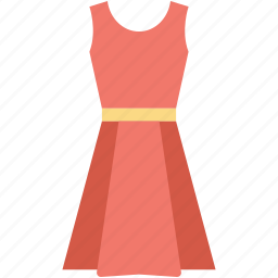clothing, frock, party dress, sundress, woman dress icon