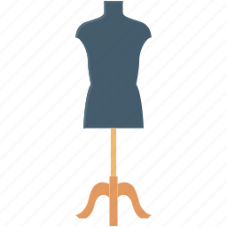 dress designing, dummy, lay figure, mannequin, tailor mannequin icon