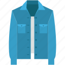 fashion, jacket, shirt, winter shirt, winter wear icon
