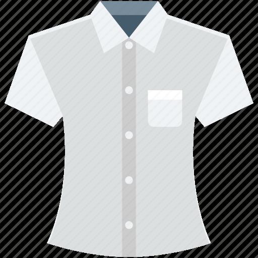formal shirt, garments, shirt, summer wear, t shirt icon