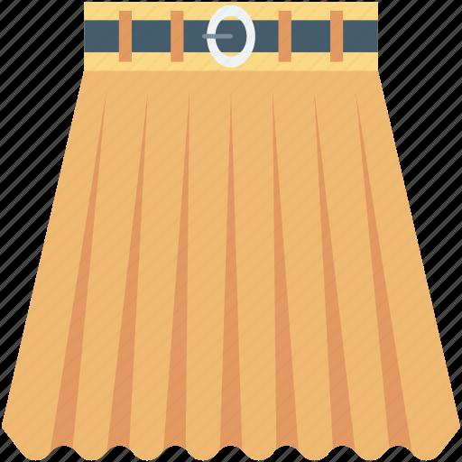 clothes, garments, mini skirt, skirt, woman clothing icon