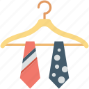 formal, hanger, necktie, tie, uniform tie icon