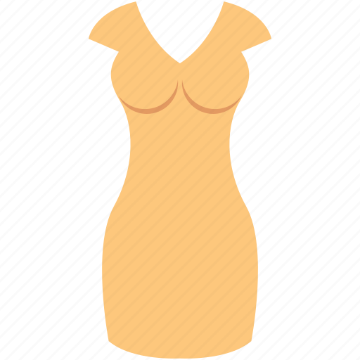 bodycon, party dress, prom dress, sundress, woman dress icon