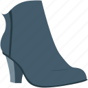 fashion, footwear, heel shoes, wedge shoes, woman shoes icon