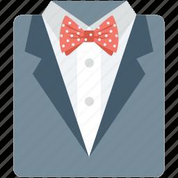 bowtie, dress shirt, fashion dress, formal shirt, shirt icon