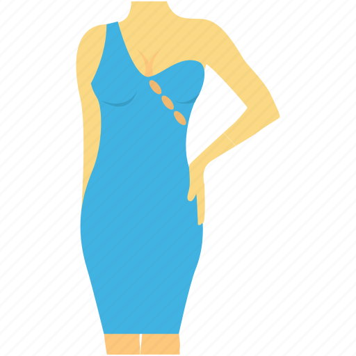 bodycon, fashion, party dress, woman clothing, woman dress icon