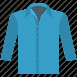 dress shirt, formal shirt, gentleman, long sleeves, shirt icon