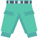 garments, jeans, pants, sweatpants, trousers icon
