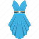 fashion, party dress, prom dress, woman clothing, woman dress icon