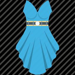 fashion, party dress, prom dress, woman clothing, woman dress icon