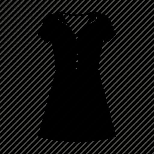 basic, clothes, dress, fashion, plain, style, woman icon