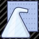 fibre, mixed, polyster, synthetics icon