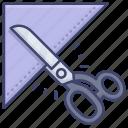 cut, cutting, scissors, tailor
