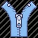 accessory, clothing, zipper, zippers