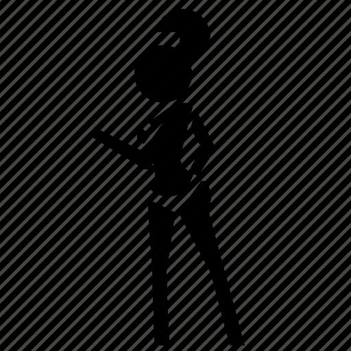 avatar, girl, model, user, woman icon