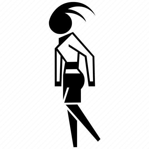 avatar, female, girl, model, user, woman icon