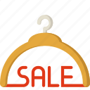 discount, ecommerce, fashion, hanger, sale, shop, store icon