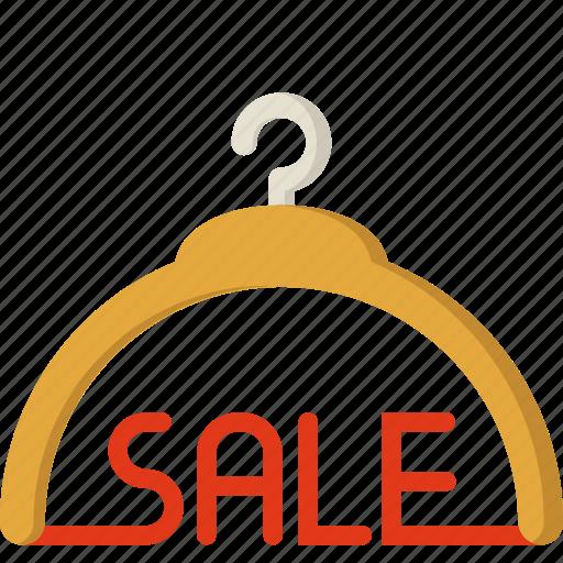 discount, ecommerce, fashion, hanger, sale, shop, store icon