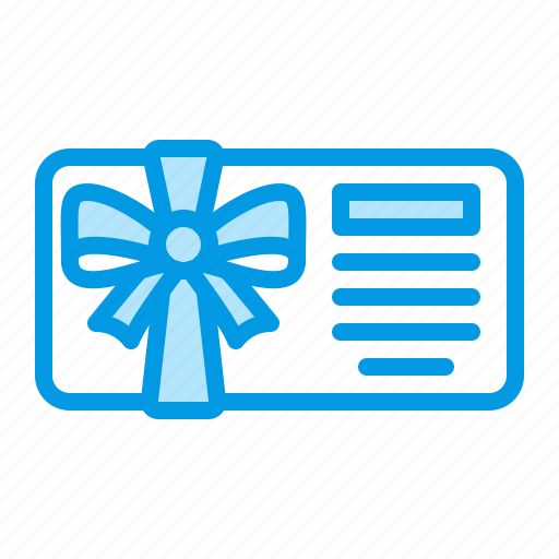 card, gift icon