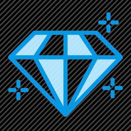 Brilliant, diamond, jewelry icon
