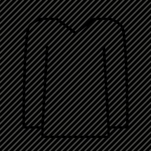clothes, clothing, fashion, laundry, longshirt, wear icon