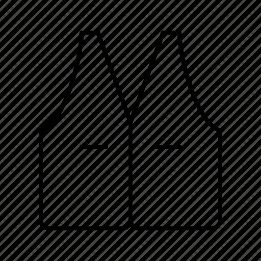 clothes, clothing, fashion, laundry, vest, wear icon