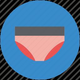 pantie, panty, underclothes, undergarment, underwear icon