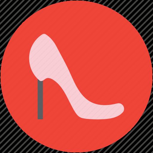 fashion, footgear, footwear, high heel, ladies hose, pump shoe icon