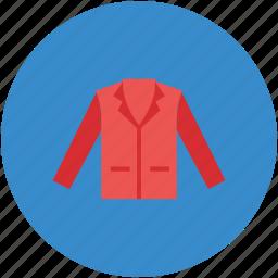 cardigans, clothing, coat, jacket, men jacket icon