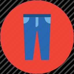 denim jeans, garments, jeans, kids pant, pant, trouser icon