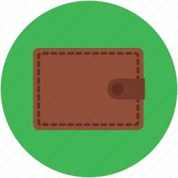 billfold wallet, fashion, money, pocketbook, purse, wallet icon