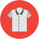 clothes, export shirt, garment, half sleeves, men shirt, shirt icon
