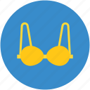 bra, brassiere, fancy bra, fashionable bra, ladies brassiere icon