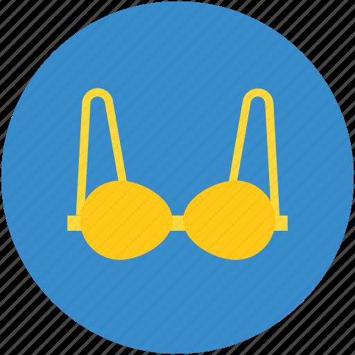 bra, brassiere, fancy bra, fashionable bra, ladies brassiere icon